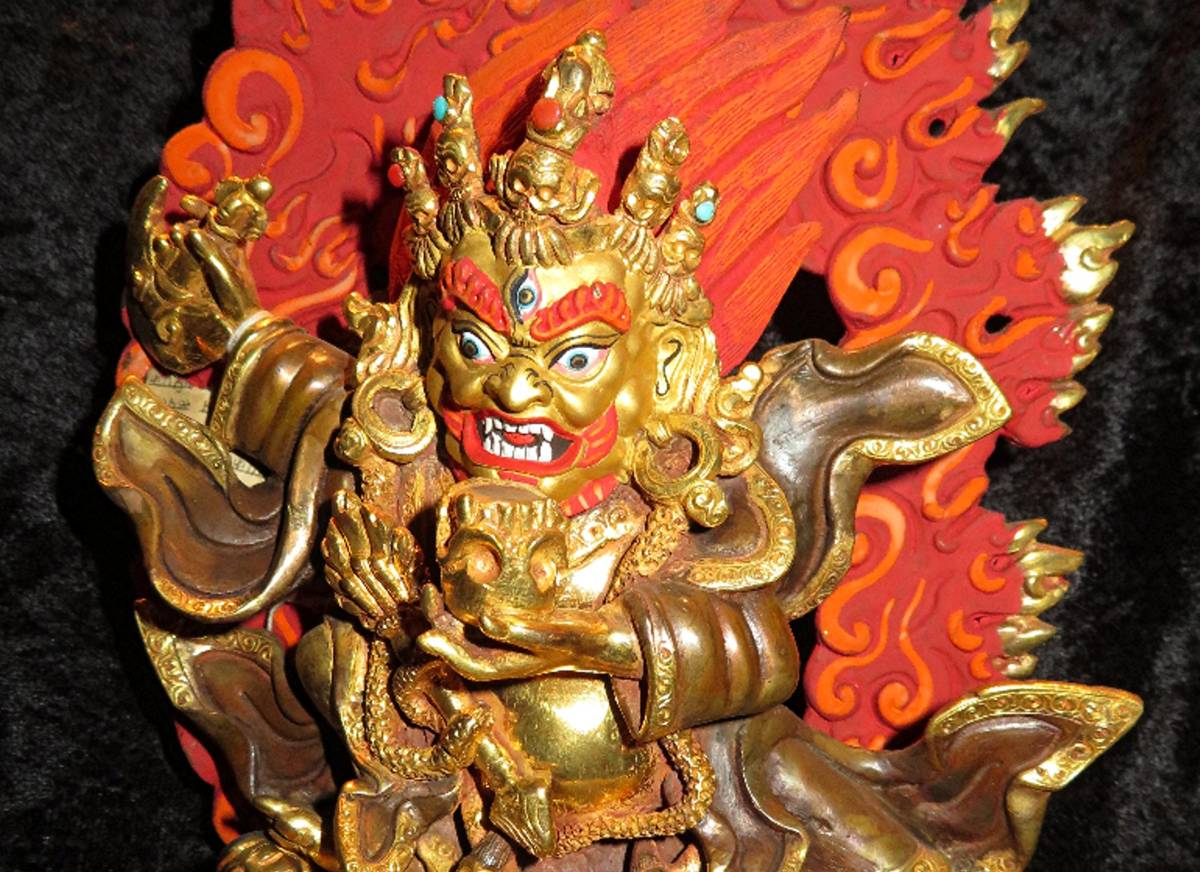 Tibetan Vajrapani at Bali Beach Museum Shop