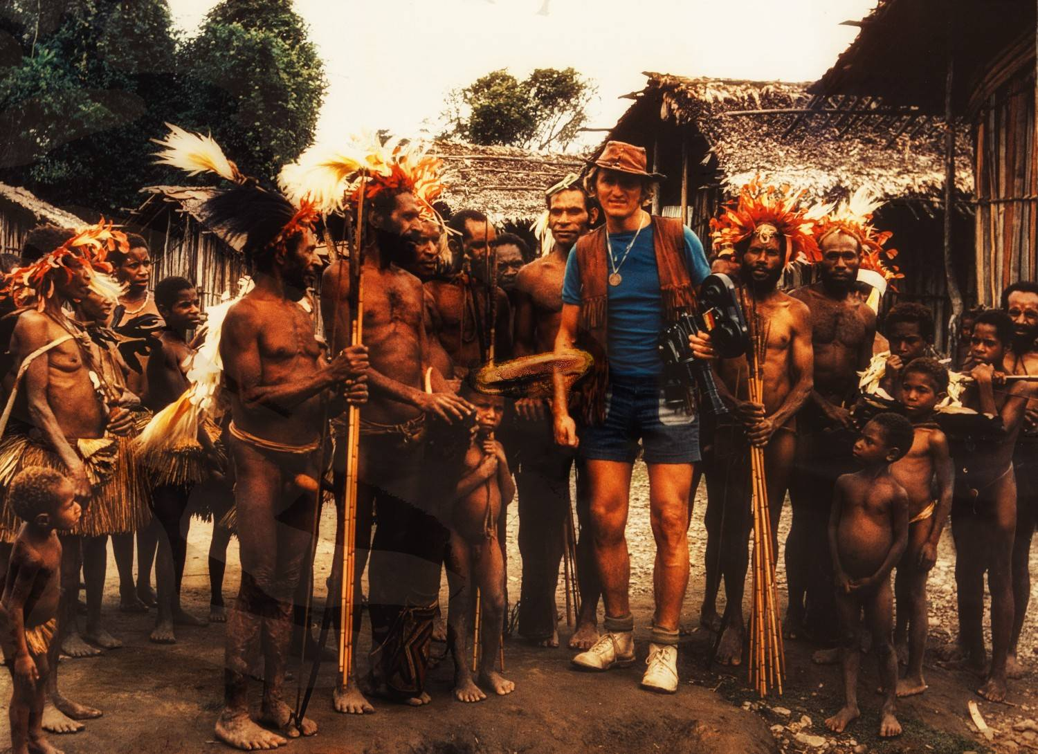 expedition to Papua Newguinea 1975